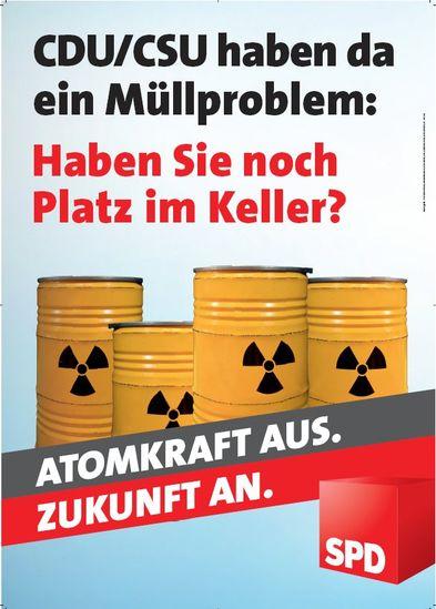 Atomkraft aus, Zukunft an - SPD