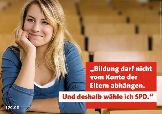 Bildung ohne Gebühren - SPD