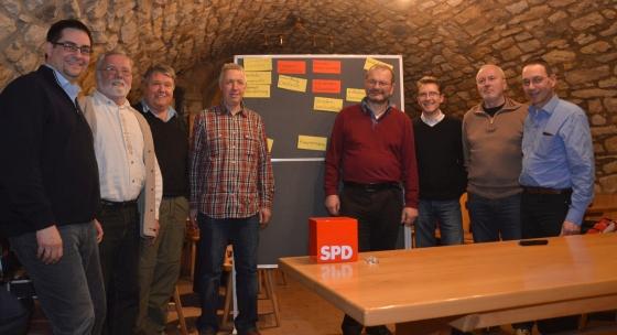 Die Teilnehmer der Kommunalen Werkstatt