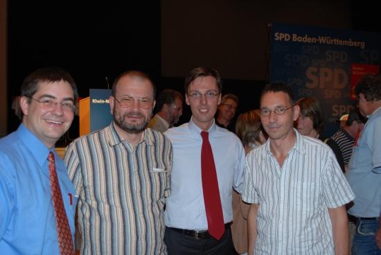 SPD Dielheim gratulierte Dr. Lars Castellucci